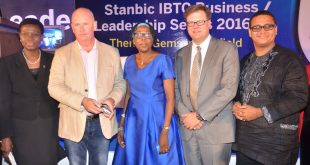 Chief Executive, Stanbic IBTC Holdings PLC, Mrs. Sola David-Borha; Eco-entrepreneur and Managing Director, AgriProtein, Jason Drew; Lagos State Director, Federal Ministry of Agriculture and Rural Development, Funmilola Olusanya; Chief Executive Officer, John Deere Financials, Jason Brantley; and Managing Director, Doreo Partners, Kola Masha