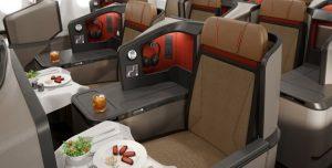 SAA A330-300 Business Class seat