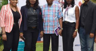 L-R: Head, Non-Financial Services, Emerging Businesses, Diamond Bank Plc, Chioma Ogwo; Head, Emerging Businesses, Diamond Bank Plc; Ayodele Olojede; a participant, Dr. James A Egejuru; Country Director, Pharm Access Njide Ndili and Program Director, Medical Credit Funds, Nigeria, Uzodinma Osisiogu during a two-day workshop for the health sector held in Lagos recently.