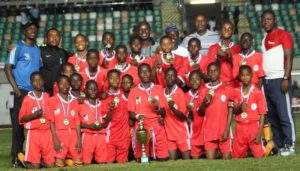 South-West U-13 Team, Winners of the U-13 category