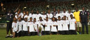 South-South U-15 Team, Winners of the U-15 category
