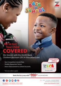 ZECA EDUCATION LOAN