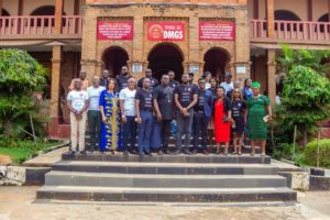 Executives and Managements of VFD Group Plc at Dennis Memorial Grammar School, Onitsha, Anambra State.