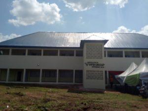 Examination Hall of Uga Boys Secondary school renovated by VFD Group Plc.
