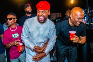 Tony Elumelu, Debola Williams and Wizkid 1