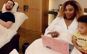 Serena-Williams-Husband-and-Daughter-600x375